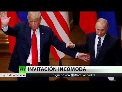 RT en Español: EE.UU.: La posibilidad de un segundo encuentro entre Trump y Putin genera polémica
