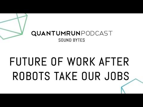 The future of work after robots take our jobs | Scott Santens | Quantumrun Sound Bytes