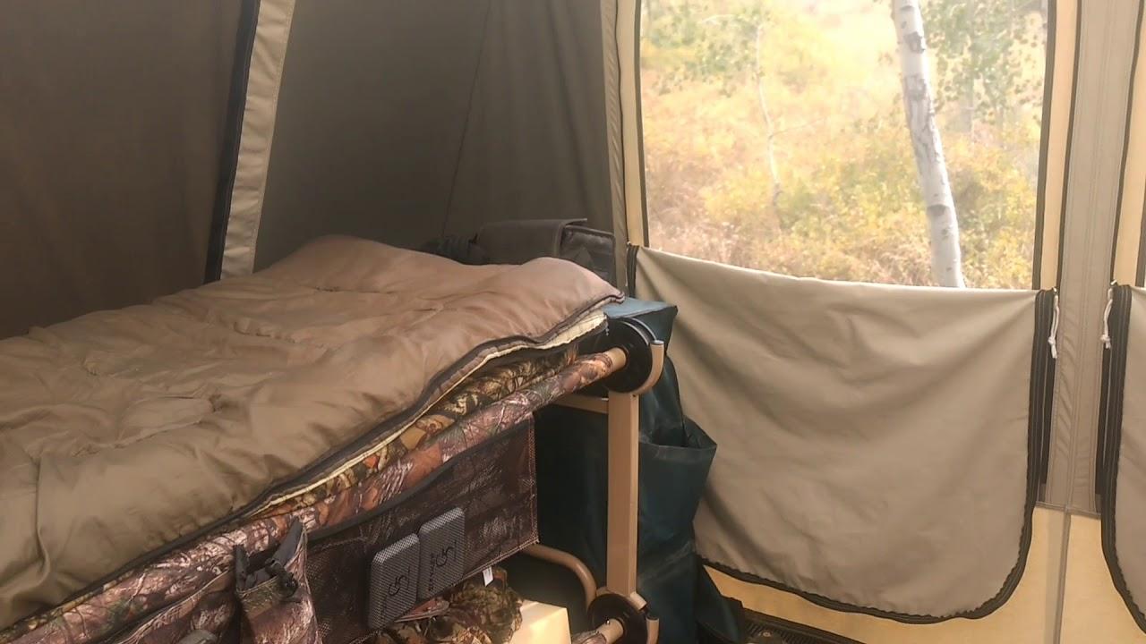 Kodiak Canvas Cabin Tent Elk C& part 1 & Kodiak Canvas Cabin Tent Elk Camp part 1 - YouTube