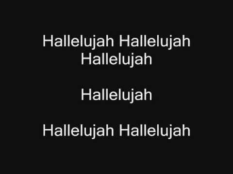 Hallelujah - Leonard Cohen with lyrics - karaoke Cover ... Hallelujah Lyrics