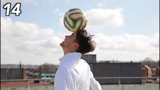 101 Football Tricks but the skills get harder each time