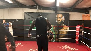 DEONTAY WILDER LIVE TRAINING CAMP COVERAGE, WITH BLUE