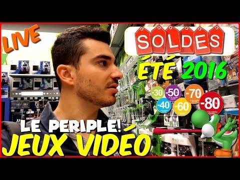 Les SOLDES d'été Jeux Vidéo 2016 ! [Périple Live !] + GROS Concours ! - Conkerax