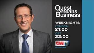 "CNN International ""Quest Means Business"" promo"