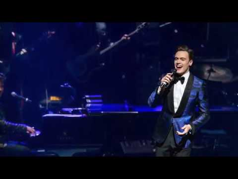Erich Bergen performs with the Shreveport Symphony on Feb. 24, 2018