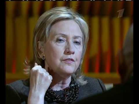 22.03.2010 Хиллари Клинтон.Интервью.