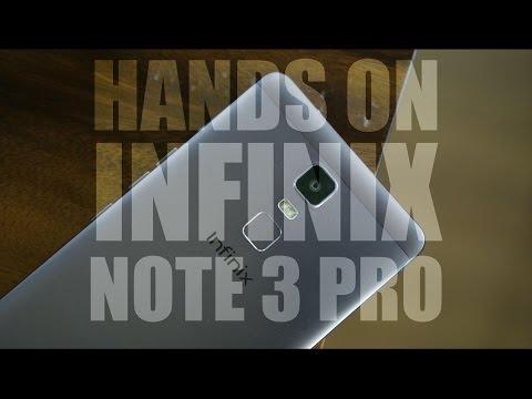 Hands On Infinix Note 3 Pro