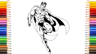 SUPERMAN Coloring Pages | Superman Color As Superman Red Son Coloring Pages