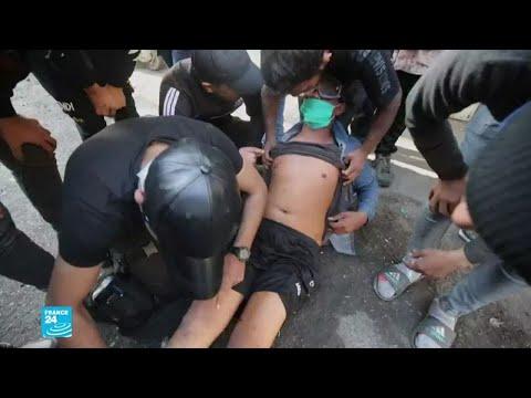 استخدام بنادق صيد الطيور المحشوة بالخرطوش ضد المتظاهرين في بغداد  - 15:01-2020 / 2 / 18