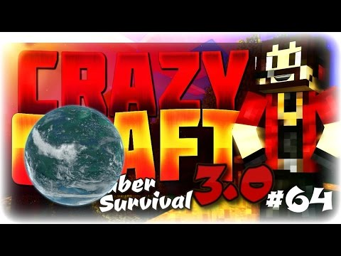 "Minecraft Crazycraft 3.0 Youtuber Survival #64 ""Heading To A New Planet"" (Superheroes Mod)"