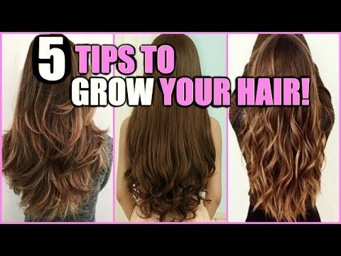 5 WAYS TO GROW YOUR HAIR LONG FAST! │ HOW I GREW MY HAIR HEALTHIER, AND LONGER