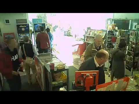 Smile you're on camera (Thief in Helsinki Check in Shop)