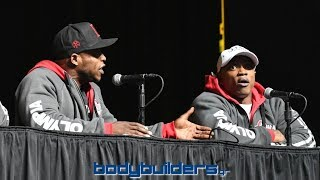 Andre Ferguson Fight With Brandon Hendrickson - 2018 Olympia Press Conference