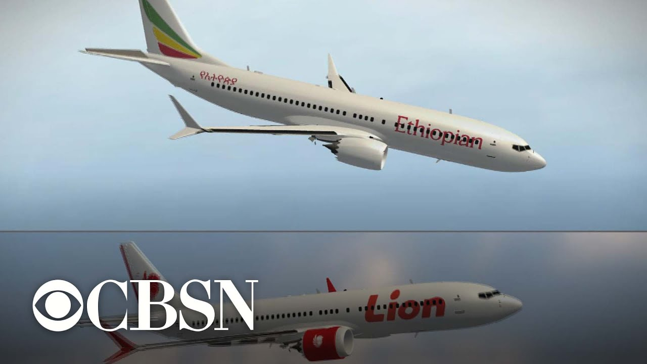 """Officials say there are """"clear similarities"""" between two crashes involving Boeing 737 Max 8 planes"""