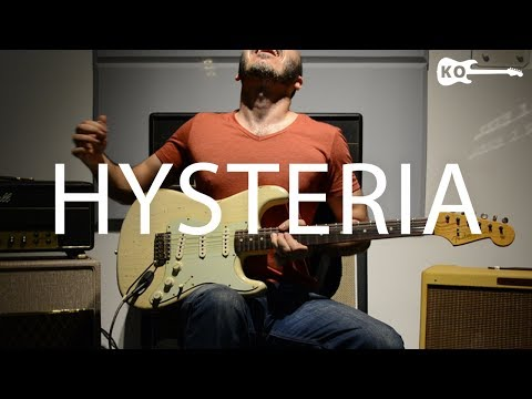 Muse - Hysteria - Electric Guitar Cover By Kfir Ochaion