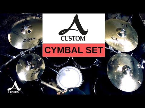Zildjian - A Custom Cymbal Set (Sound Demo)