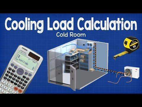 Cooling Load Calculation -  Cold Room Hvac
