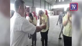 Sultan Selangor cemar duli melawat rakyat