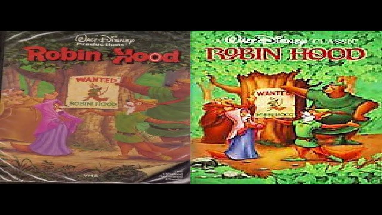 Similarities and dissimilarities between robin hood and