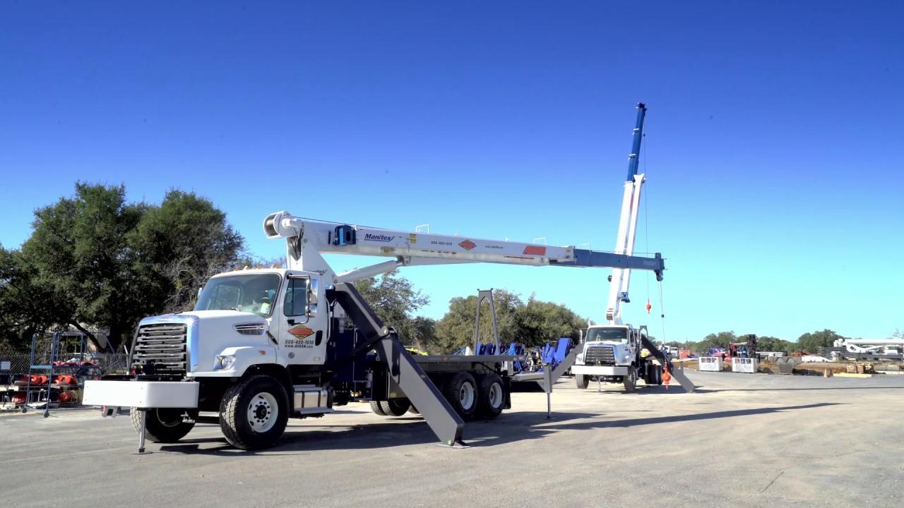 Manitex Inc - Truck Mounted Lifting Solutions