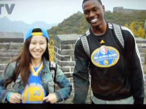 Warriors: Joe Lacob & Peter Guber on the Great Wall of China