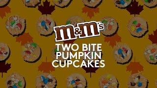 M&M'S Two Bite Pumpkin Cupcakes