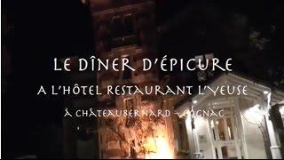 Diner Epicure Délégation des disciples d'Escoffier du Grand Sud Ouest 2015