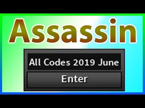All Codes For Assassin 2019 June Youtube