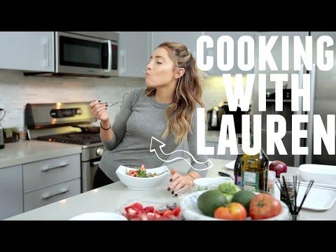 COOKING WITH LAUREN: HEALTHY SPRING SALAD!