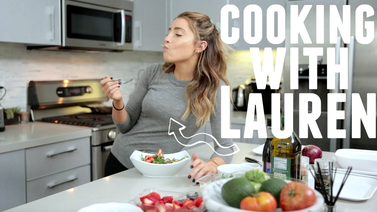 Cooking with lauren healthy spring salad youtube