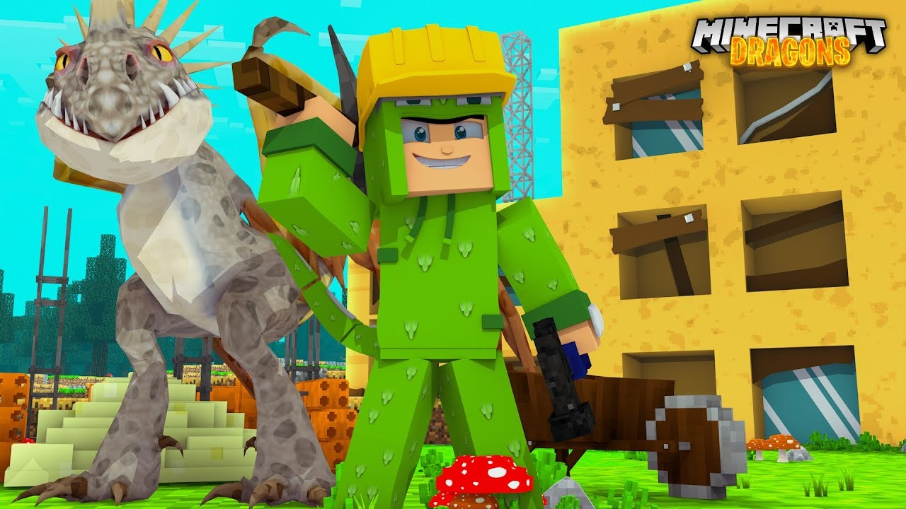 Tiny Turtle S Big Surprise Minecraft Dragons Youtube