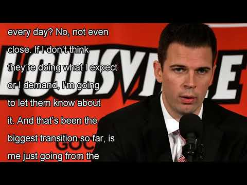 David padgett is provided some calm after the storm, rick pitino at louisville by news today