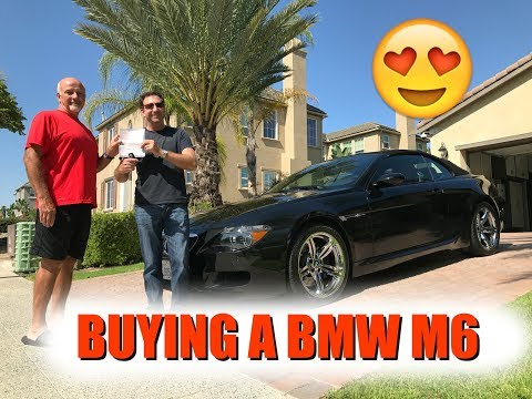 BUYING A BMW M6!!!!