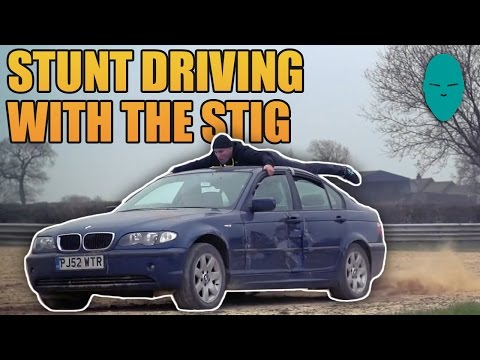 Car Surfing Featuring THE STIG! | Damien Walters