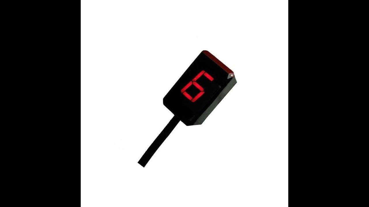 kawasaki zx6r ninja plug play gear indicator [ 1280 x 720 Pixel ]
