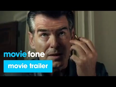 'The November Man' Trailer #2 (2014): Pierce Brosnan, Luke Bracey