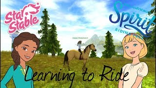 Learning To Ride | Star Stable Online | Spirit Riding Free