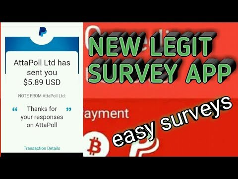 Free Paypal Cash And Free Bitcoin In Just Anwering Surveys