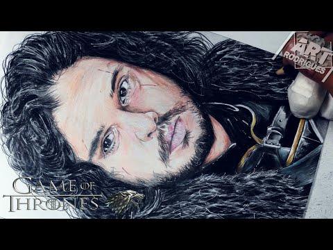 Desenhando Jon Snow Game Of Thrones Got Youtube