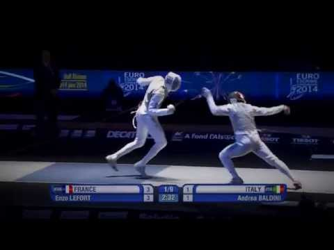 Fencing - In 'slow-motion'