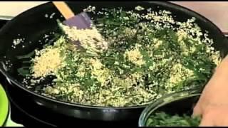 Ensalada de quinoa, acelgas y queso parmesano. Cocinemos Juntos