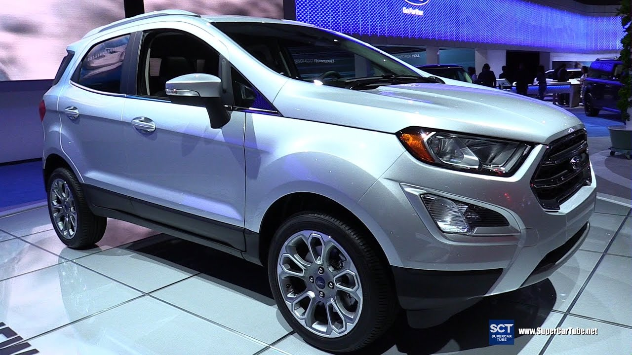 2018 ford ecosport titanium exterior and interior walkaround debut at 2016 la auto show. Black Bedroom Furniture Sets. Home Design Ideas