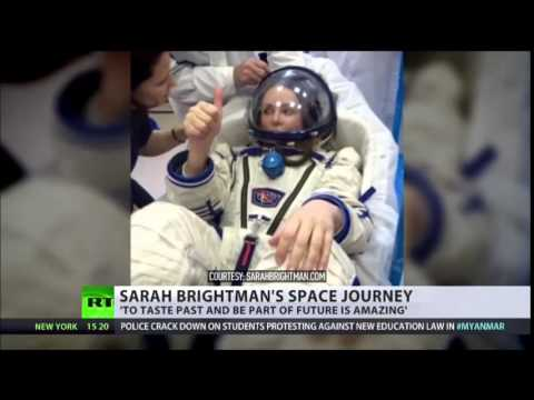 Orbiting opera 'Space tourist Sarah Brightman to sing Andrew Lloyd Webber on ISS'