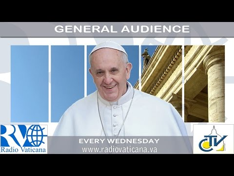 Pope Francis General Audience - 2016.09.07