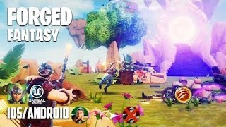 Forged Fantasy - iOS / Android - FIRST GAMEPLAY (Unreal Engine 4)