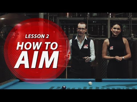 Billiard Tutorial: How to Aim & Cue Ball Control!!!