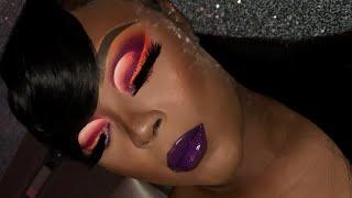 5Hour Colorful Makeup Tutorial ❤️😍