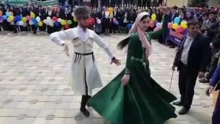 Ловзар в честь празднования Дня Мира и отмены КТО в Чеченской Республике Ножай-Юрт