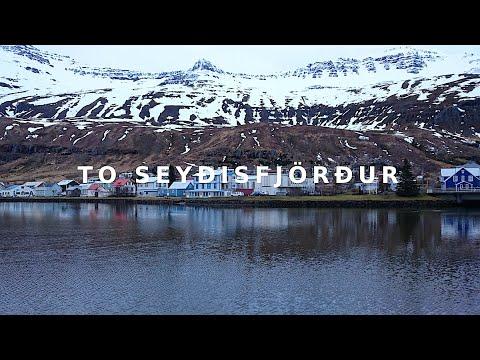 アイスランド 可愛い東部の町セイジスフィヨルズルへ初めての海外車旅