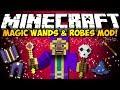 Minecraft Magic Wands & Wizarding Robes Mod: TONS OF MAGIC STUFF! (HD)